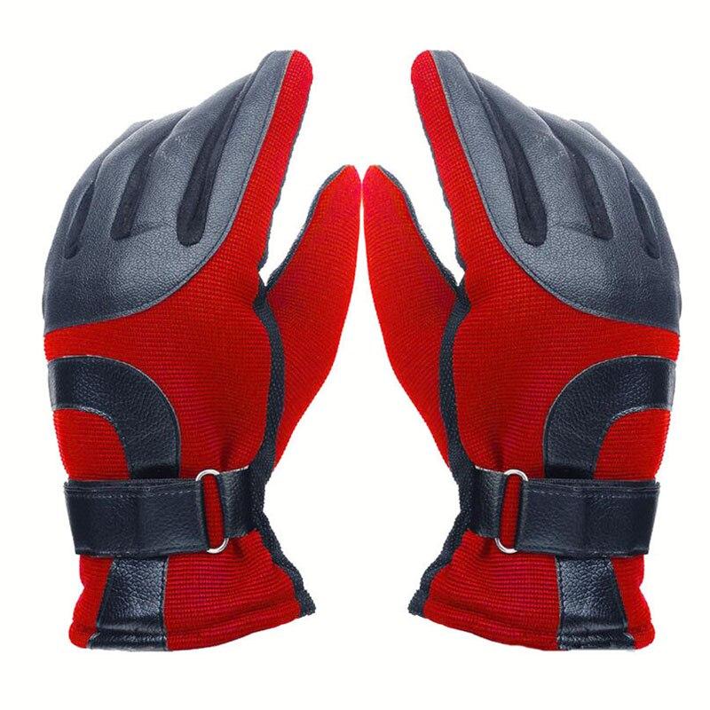 Men/Women Skiing Gloves Mittens Waterproof Snowboard Gloves Ultralight Winter Warm Fleece Snowmobile Cycling Hunting Ski Gloves