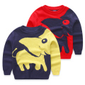 Girl and Boy Pullover knitted Elephant cartoon sweaters Kids sweater for girls children's boys clothes pull garcon enfant fille