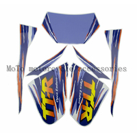 Brand New Motorcycle Complete Graphic Kit Dirt Bike Sticker Decal For TTR250