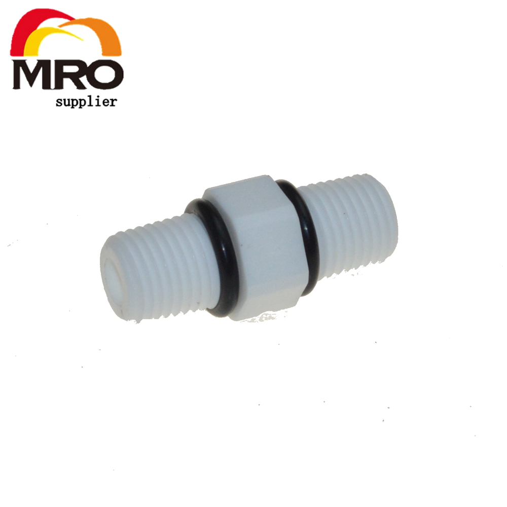 Size : 3//4 no logo 1pcs 1//2 3//4 1 1-1//4 1-1//2 BSP Male Thread Hex Nipple Union Gray PVC Pipe Fitting Coupler Adapter Water Connector BSP Thread