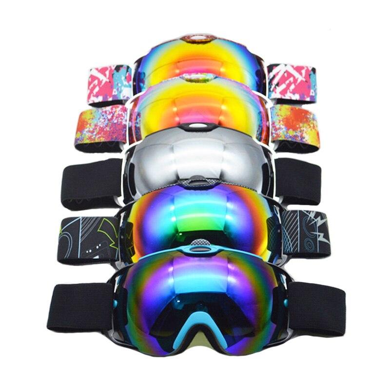 Prix pour Double Lentille Ski Lunettes Motoneige Snowboard Neige Protection Lunettes Skate Lunettes Pour Hommes Googles Snowboard Lunettes
