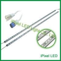 48SMD/M 5050 IP65 12 V LED Stijve Strip magic digitale led strip 1903 ic LED strip