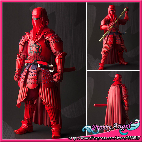 Japan Anime Original Bandai Tamashii Nations Meishou MOVIE REALIZATION Exclusive Star Wars <font><b>Action</b></font> <font><b>Figure</b></font> - Akazonae Royal Guard