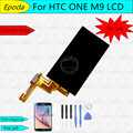 New LCD For HTC One M9 LCD Touch Screen Display with Digitizer Full Assembly , Free shipping
