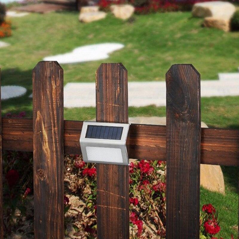 1 Pc Solar Power 2 Leds Licht Energiesparende Lichter Edelstahl Garten Yard Pathway Treppen Schritt Außen Sicherheit Lampe Lb88 Den Menschen In Ihrem TäGlichen Leben Mehr Komfort Bringen