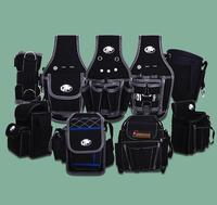 110x185mm Repair Hand Tools Quality Waist Packs Pockets With Belt Bodypack Versatile Black For Men Portable