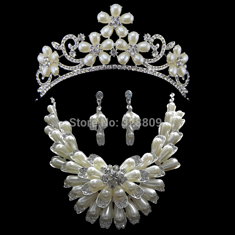Popular Ivory Pearl Jewelry Sets Buy Cheap Ivory Pearl Jewelry Sets Lots From China Ivory Pearl