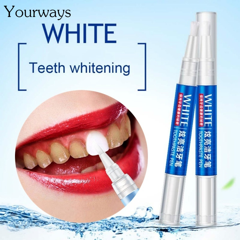YOURWAYS Pure Natural Teeth Whitening Gel Pen Oral Care Remove Stains Tooth Cleaning Teeth Whitener Tools