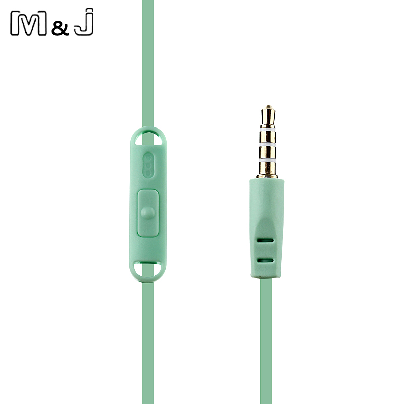 M&J crtić slatka slušalica 3.5mm u uho žičana slušalica s - Prijenosni audio i video - Foto 6