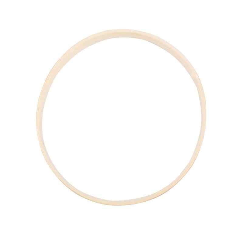 Herramienta de aro de bordado círculo de bambú redondo arte DIY Kit de punto de cruz herramienta Manual de costura China 10/13. 1/15/23,3/26,2/29 cm
