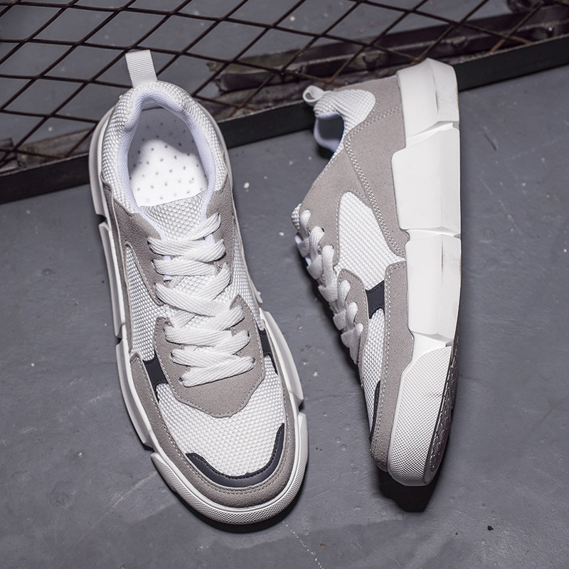 Zufeng 2018 Spring And Summer Mens Skateboarding Shoes MeSH Fashion Casual Male Shoes Trend White Shoes Outdoor Sneaker for menZufeng 2018 Spring And Summer Mens Skateboarding Shoes MeSH Fashion Casual Male Shoes Trend White Shoes Outdoor Sneaker for men