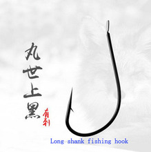 FPHWYP 500pic wanshi barbed fishing lure hooks  without holes 1#~17# double hook explosion needle are high carbon steel without