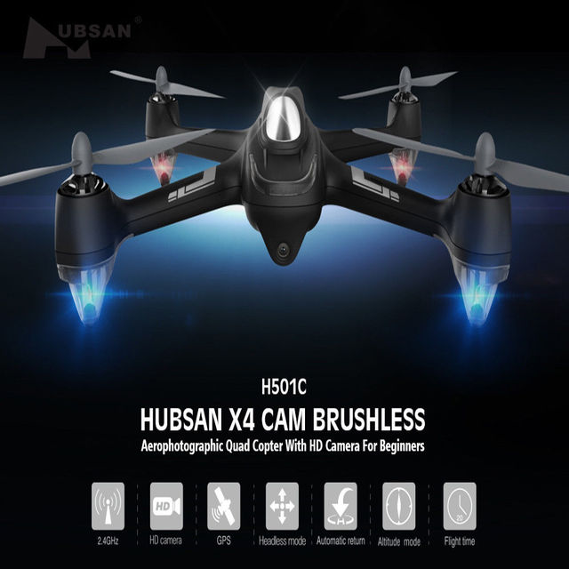 Original Hubsan H501C X4 Brushless Cam Drone With 1080P HD Camera GPS...