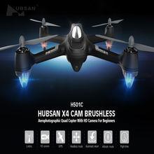 Asli Hubsan X4 H501C Brushless Drone Dengan 1080 P HD Kamera Cam GPS Ketinggian Terus Modus RC Quadcopter RTF