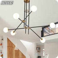 Magic Beans Chandelier Modern Simple Personality Nordic Fashion Glass Atmosphere Living Room Dining Room Lights
