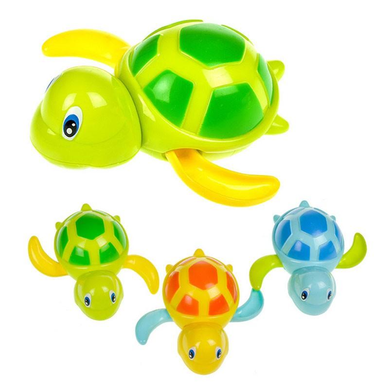 Cute Turtle & Dolphin Baby Bath Toy