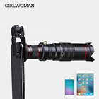 Girlwoman Cell Phone Camera Lens 22X Zoom Telephoto Lens Stronger Phone Tripod Phone Holde for iPhone Samsung Most Smartphones