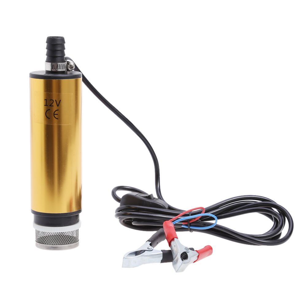 Newest 12V Car Electric Pump Diesel Fuel Water Oil Transfer Submersible Pump with On Off Switch