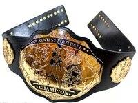 Fantasy Football Champion Belt N FL Award Belts Black & Gold Wholesale Price via DHL Delivery