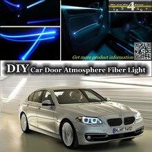 Для BMW 5 M5 F10 F11 F07 внутренняя настройка окружающего света атмосферное волоконно-оптическое освещение панели двери освещение(не EL свет