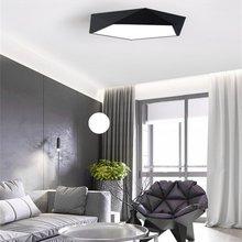 hot deal buy creative geometric art ultra-thin 5cm led lighting ceiling lamp for sitting room lamp study corridor balcony ceiling lighting