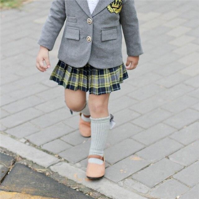 Kids Socks Baby Girls Socks Warmer Cotton Knee High with Bows Baby Princess Socks for Girl Sweet Cute Baby Long Tube Socks 0-4 Y