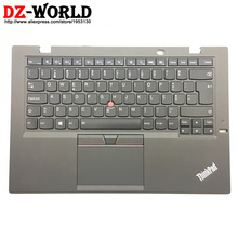 Touchpad Backlit-Keyboard Carbon-Gen Thinkpad W/palmrest PT for X1 20BT Portuguese 00HT322