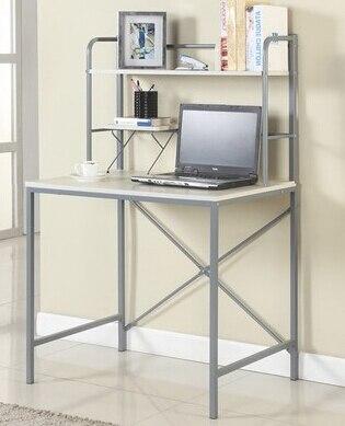 Simple computer desk, 80 cm bookshelf home laptop desk  secretary solid wood desk