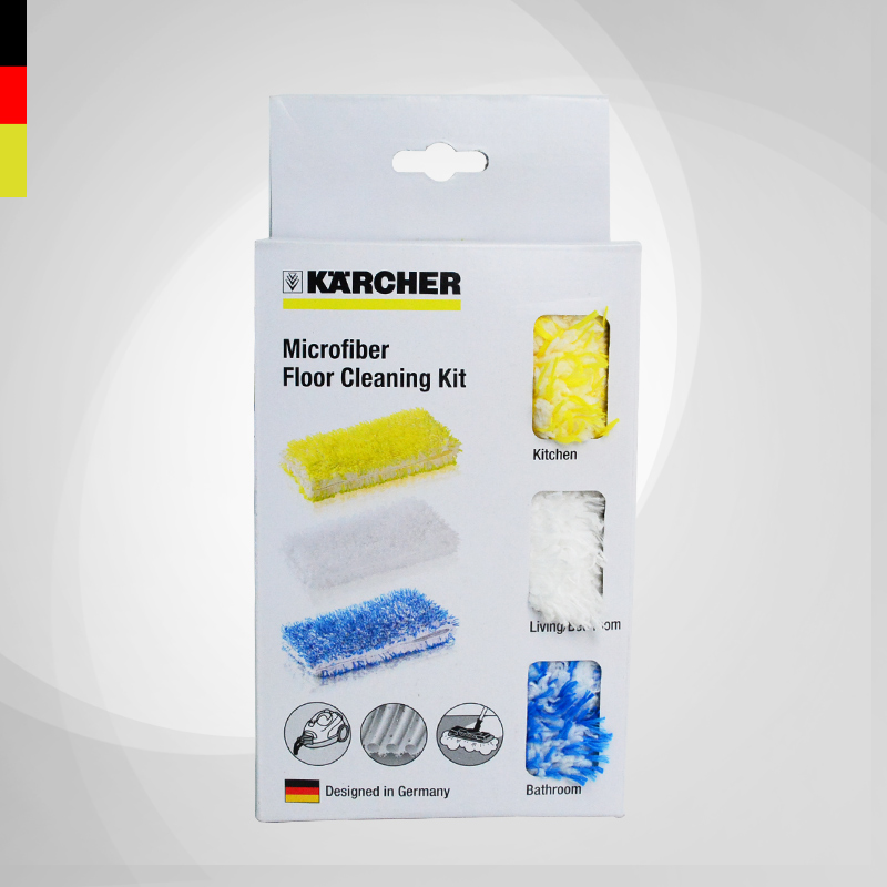3pcs/lot KARCHER steam cleaner parts super long fiber floor cloth SC series SC1/SC2/SC3 klotz sc3 15sw