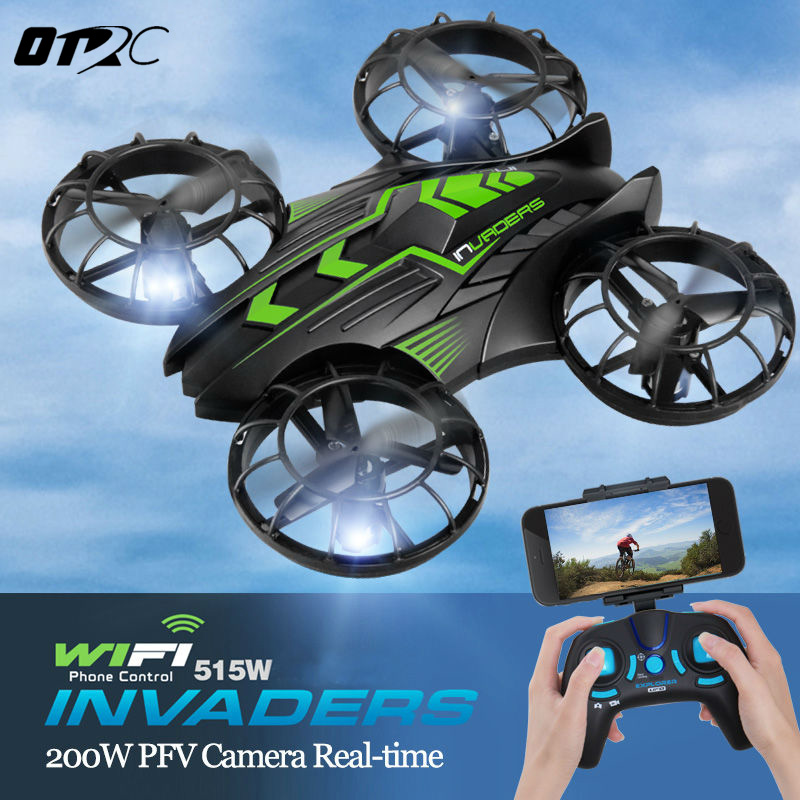 JXD 515W WIFI FPV Camera JXD  Mini RC Quadcopter Drone Propeller Up and Down all protection 2.4GHz UFO Helicopter GIFT TOYS jjr c jjrc h43wh h43 selfie elfie wifi fpv with hd camera altitude hold headless mode foldable arm rc quadcopter drone h37 mini