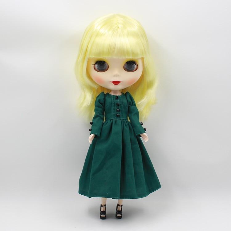 Neo Blythe Doll Vintage Dress 2