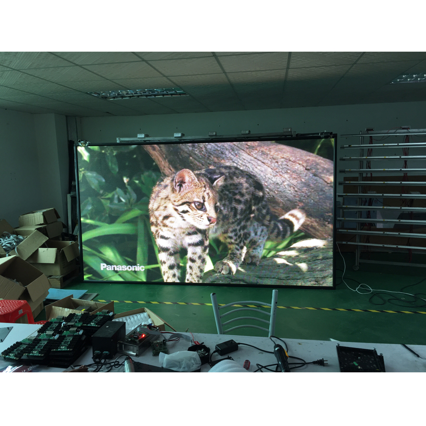 RGB Led Display Module 320*160mm 32*16pixels 1/8Scan SMD3528 P10 For Indoor Video Wall Panel