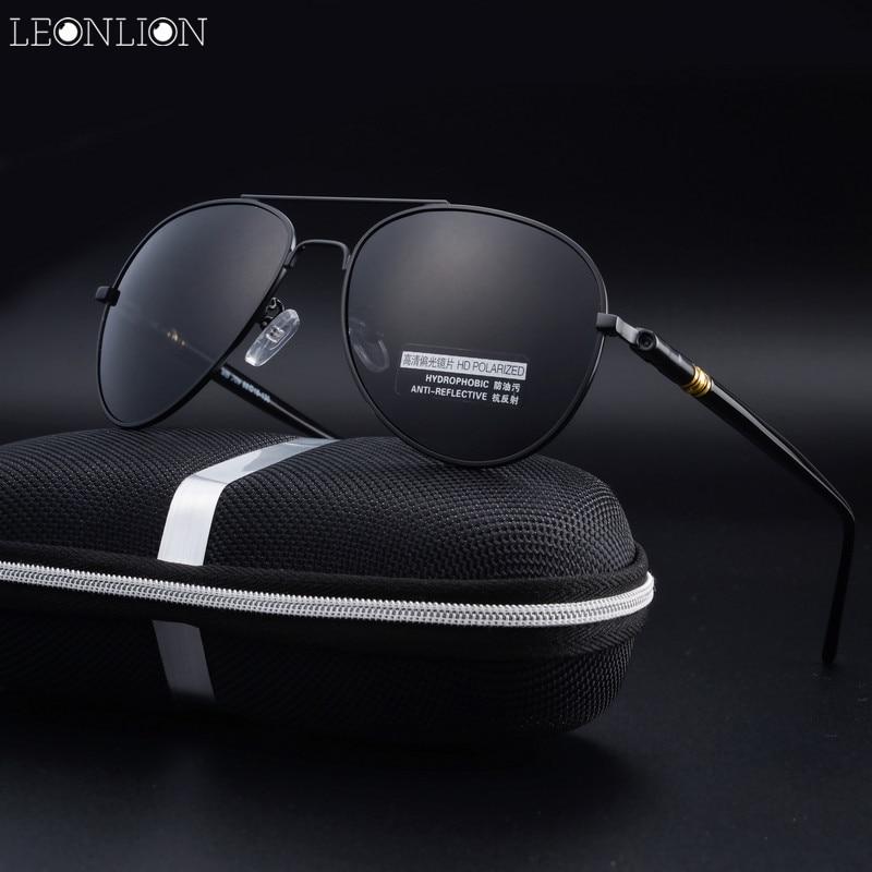 Leonlion 2017, Новая мода мальчиков Солнцезащитные очки для женщин Для мужчин Для женщин топ Брендовая Дизайнерская обувь Очки Роскошные поляриз...