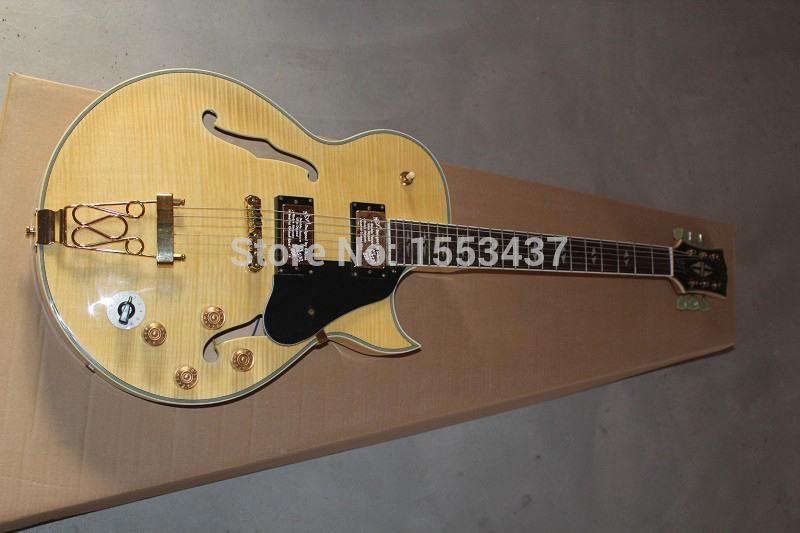 Free shipping Guitar custom shop Wholesale price Newest Classic gretsch 6120 Jazz hollow Electric Guitar With