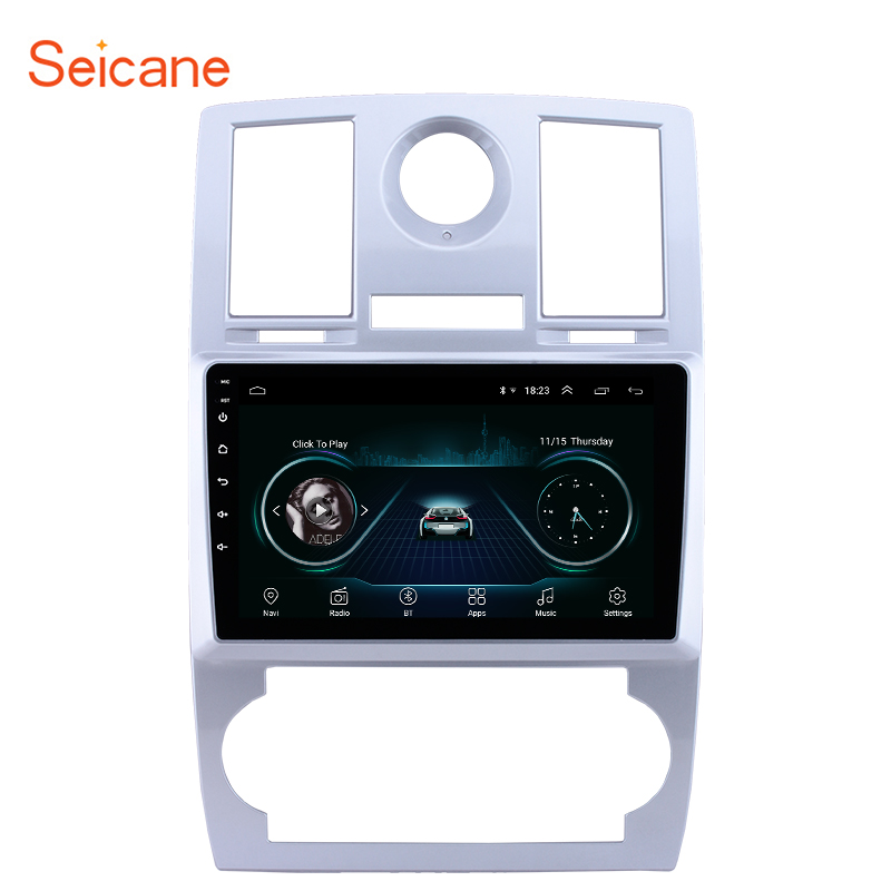 Seicane Android 8.1 Quad-core 2din Car GPS Navigation Radio Multimedia Player For Chrysler Aspen 300C 2004 2005 2006 2007 2008Seicane Android 8.1 Quad-core 2din Car GPS Navigation Radio Multimedia Player For Chrysler Aspen 300C 2004 2005 2006 2007 2008