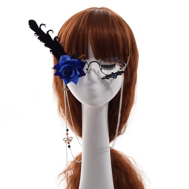 Фэнтези очки с розой 3
