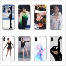 JAPAN Yuzuru Hanyu Phone Case Figure skating cover Soft TPU Silicone for apple iphone 8 7