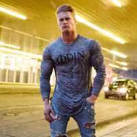 2019 di Modo di Estate della Maglietta Degli Uomini di Casual Patchwork Manica Corta T Shirt Mens Abbigliamento di Tendenza Casual Slim Fit Top magliette 3XL