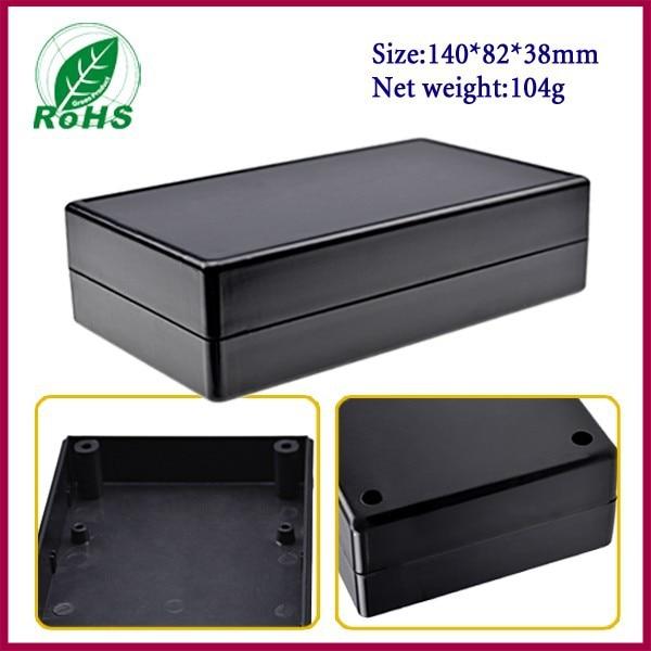 (XDP04-28 5pcs/lot) black plastic box electronics enclosure for electronic project box 142*82*40mm 2.59*3.23*1.57inch 5pcs lot [ electronic ] 100