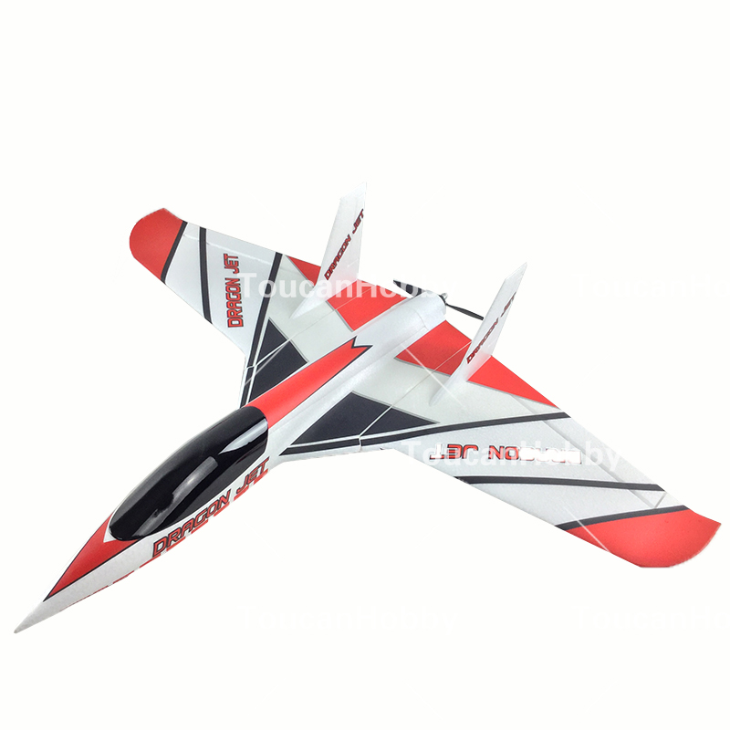 hsd red fun jet rc kit propeller delta wing plane model w o motor servo 20a esc in rc airplanes. Black Bedroom Furniture Sets. Home Design Ideas