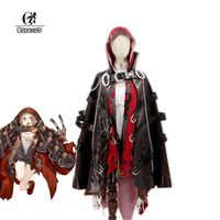 ROLECOS 2017 New Phone Game SINoALICE Cosplay Costumes Little Red Riding Hood Cosplay Costumes Full Sets