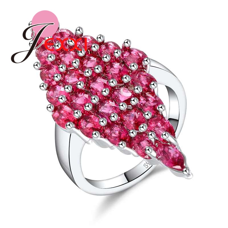 Detail Feedback Questions about JEXXI Pomegranate Red Cubic Zirconia Pave  Cut Art Deco Bright Cocktail Rings for Women Dress Accessory Femme Luxury  Jewelry ... b78e70474ab5