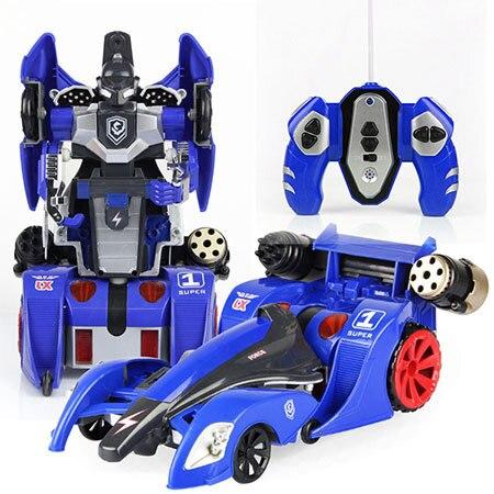 online shop fire bullets music light rc car transformation remote control car robot car toys scale model kids toys boys gift 20120 aliexpress mobile