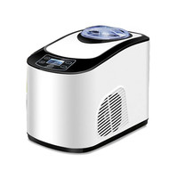 Jamielin Commercial Fruits Ice Cream Making Machine High Efficiency Small Electric Ice Cream Maker Automatic