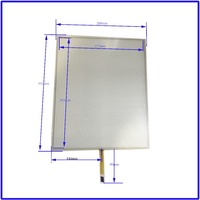 355mm 288mm 17 Inch Touch Screen Panels 4 Wire Resistive USB Touch Panel Overlay Kit Free