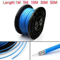 Areyourshop RG402 RF Coaxial Cable Connector Semi-rigid RG-402 Coax Pigtail 1m 5m 10m 30m New Cable Connector