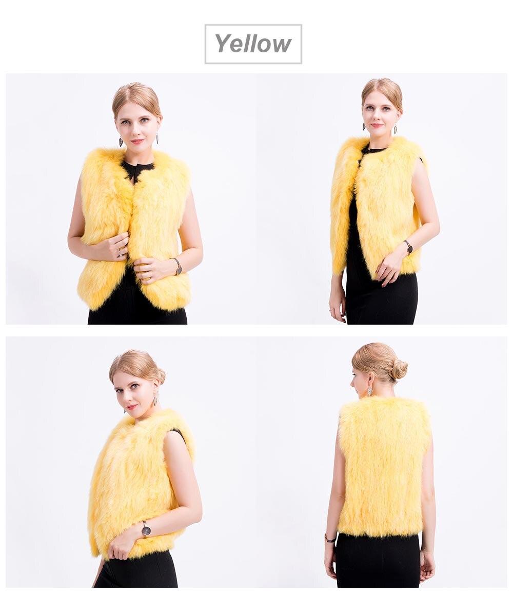 shorter knit fox vest color 4