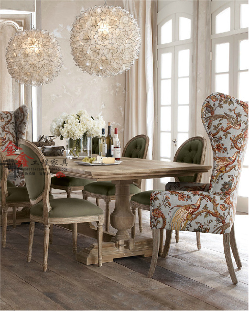 Markor Dining Table Rustic Wood Tables And Chairs Idyllic Combination Of European High Back