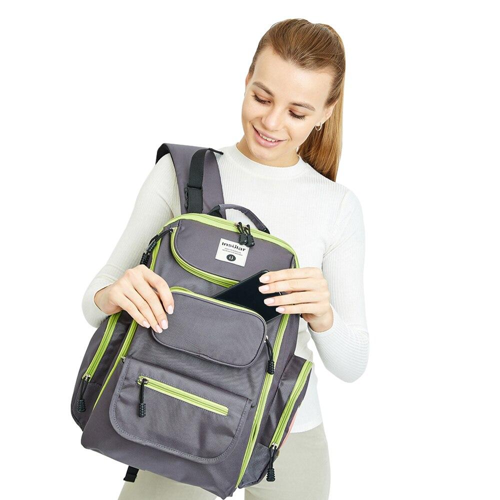 2018 nowych moda dziecko dziecko torby na pieluchy plecak wodoodporny - Pieluchy i Trenowanie toalety - Zdjęcie 2