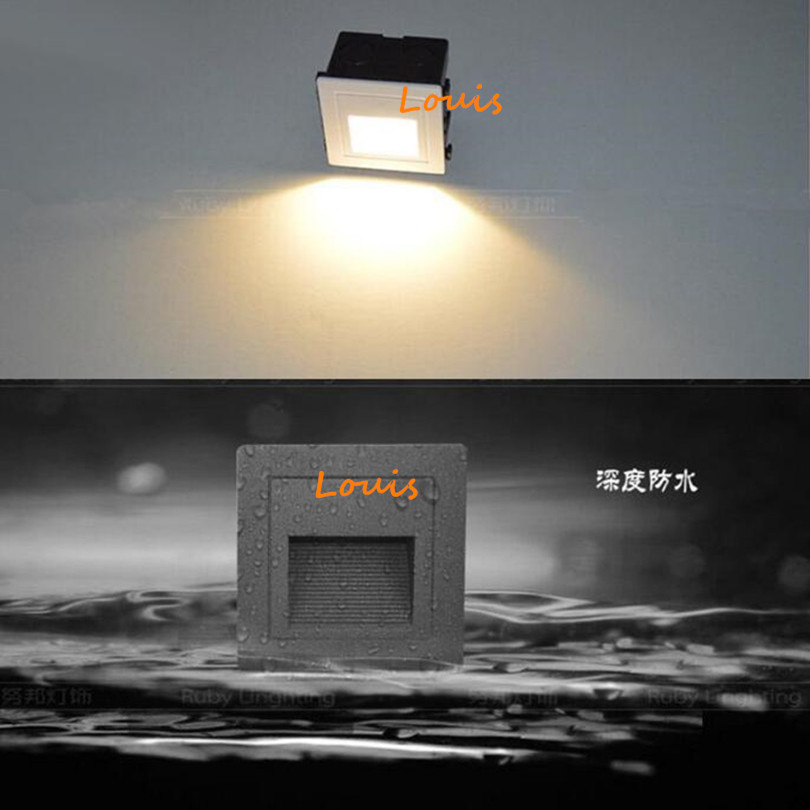 Lights & Lighting Free Shipping High Quality Modern Brief Led Stair Light 85-265v 3w 1w Wall Mounted Spotlight Background Light Step Aisle Lamp Led Lamps